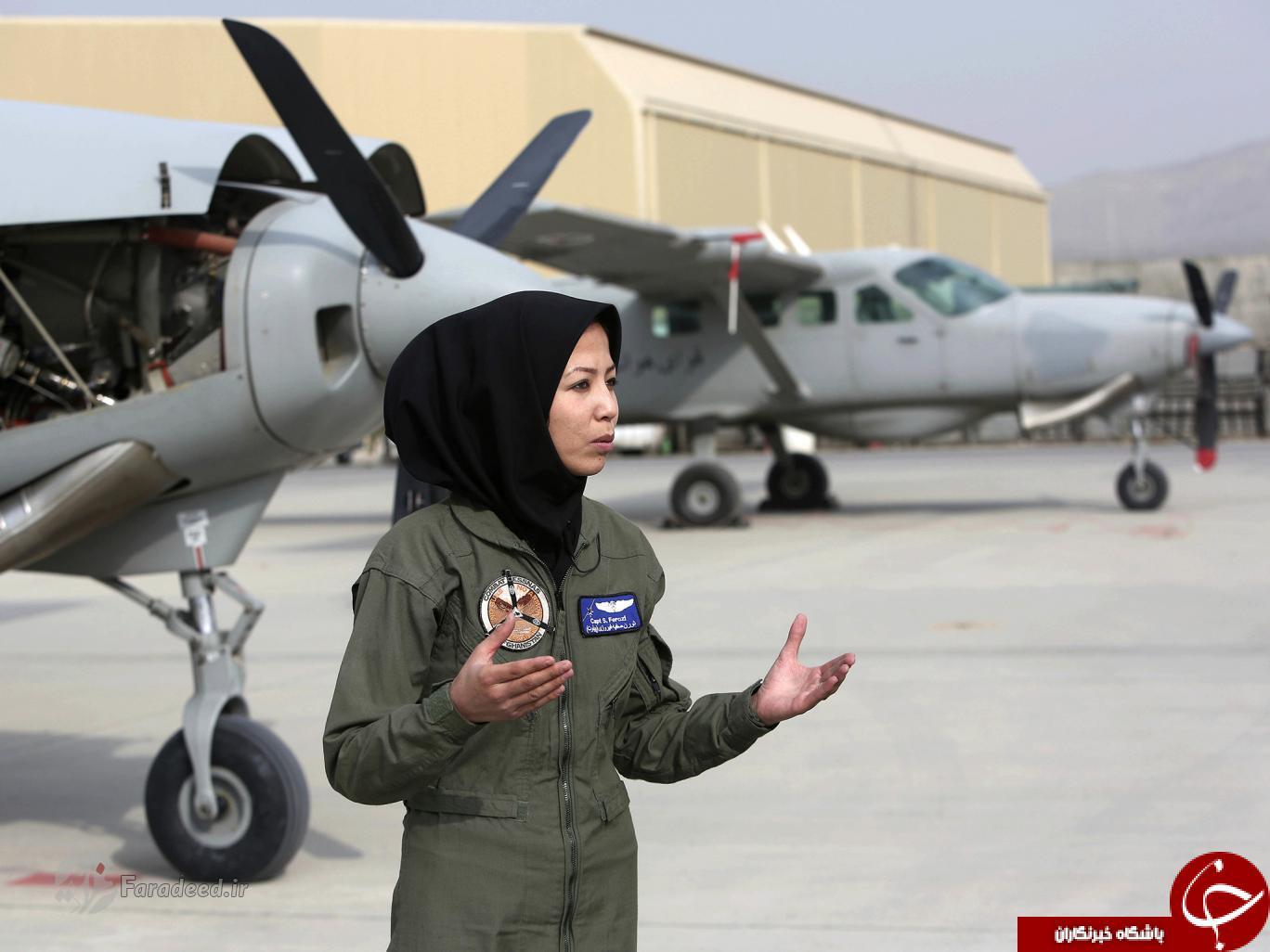 زن افغانی که از پناهندگی به خلبانی رسید!