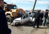 باشگاه خبرنگاران - تصادف وحشتناک یک دستگاه تانکر حامل سوخت در جاده بین المللی ماکو + تصاویر
