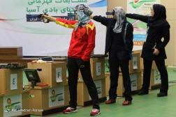 باشگاه خبرنگاران - فینال مسابقات تفنگ بادی 10 متر قهرمانی بانوان آسیا