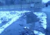 باشگاه خبرنگاران - اولین برف پاییزی شهرستان شیروان + فیلم