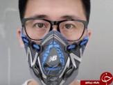 باشگاه خبرنگاران -کفش ورزشی تبدیل به ماسکی برای آلودگی هوا شد + تصاویر