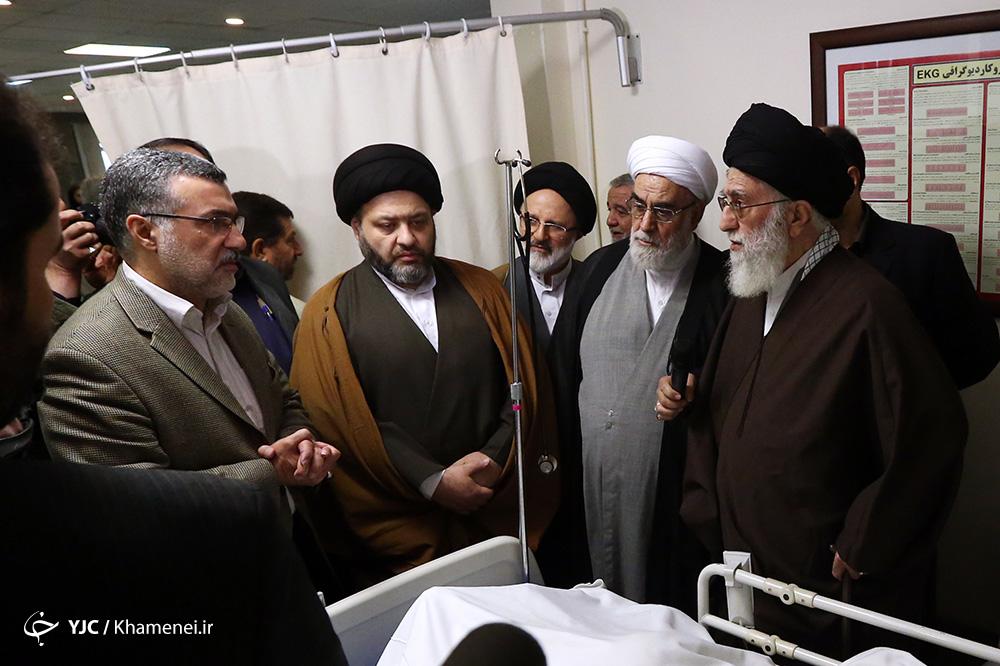 عارف از الله موسوی اردبیلی عیادت کرد - 81