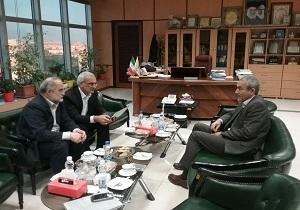 استاندار اردبیل با مدیرعامل شرکت راه آهن کشور دیدار کرد