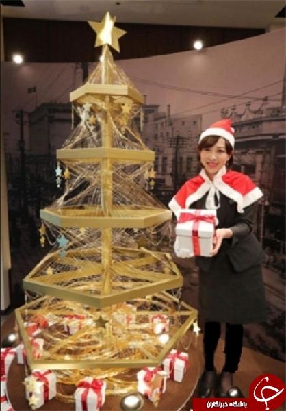 گرانترین درخت کریسمس تاریخ را ببینید +تصاویر
