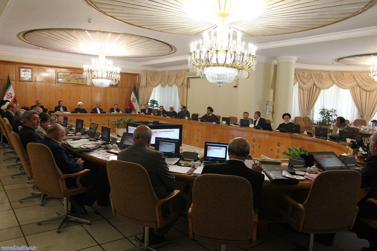 تعداد دیگری از تبصره های لایحه بودجه سال 1396 کل کشور در هیات دولت تصویب شد
