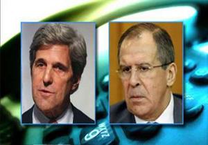 گفتگوی تلفنی وزرای خارجه روسیه و آمریکا درباره اوضاع سوریه