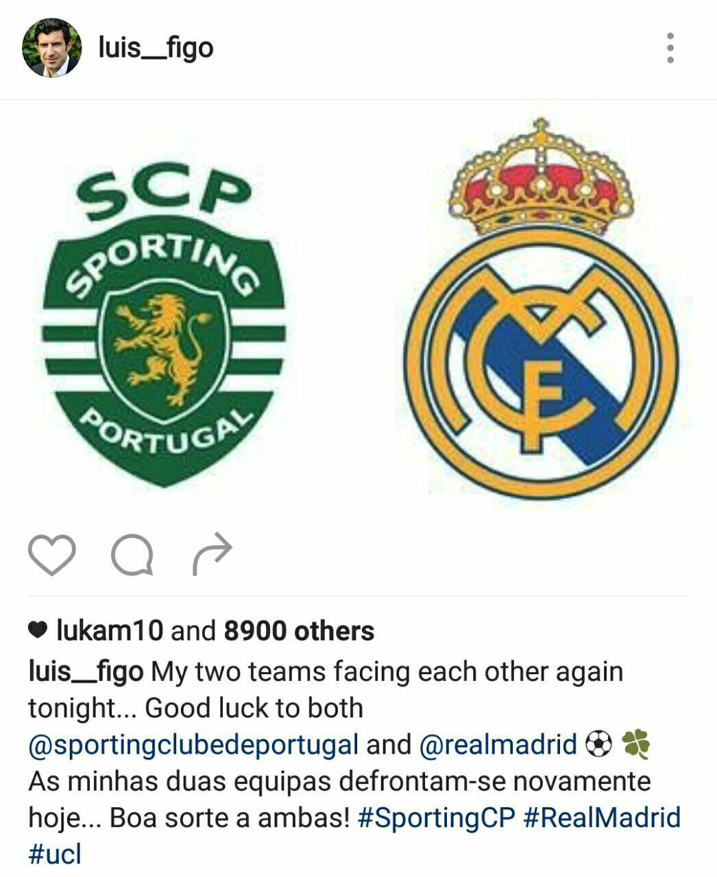 اسطوره پرتغالی، منتظر بازی امشب رئال و اسپورتینگ+عکس