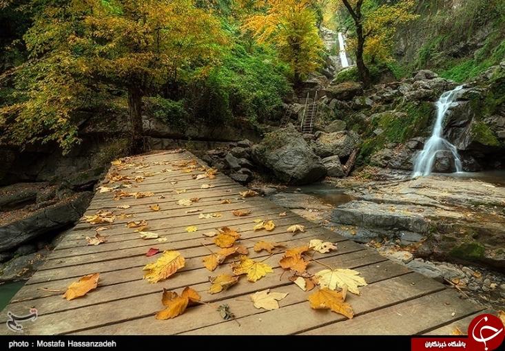 عکس/ پاییزی رویایی را در این منطقه از ایران تجربه کنید