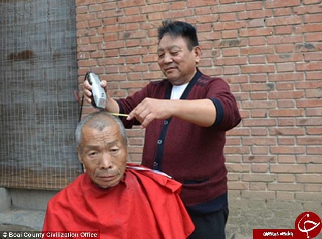 آرایشگری که در دنیا همتا ندارد + تصاویر