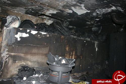 جهیزیه عروس مشهدی در آتش سوخت + تصاویر