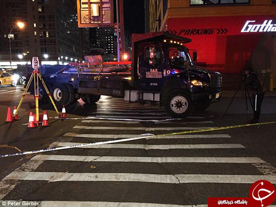 راننده تریلی توریست اسپانیایی را کشت +تصاویر