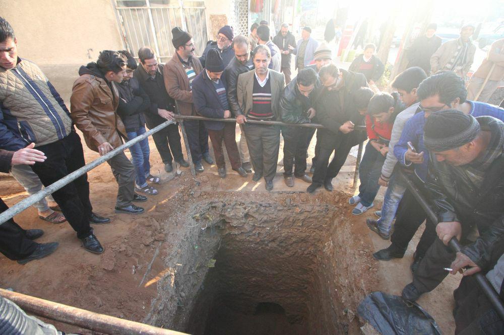 کشف گور قدیمی در تبریز+تصاویر