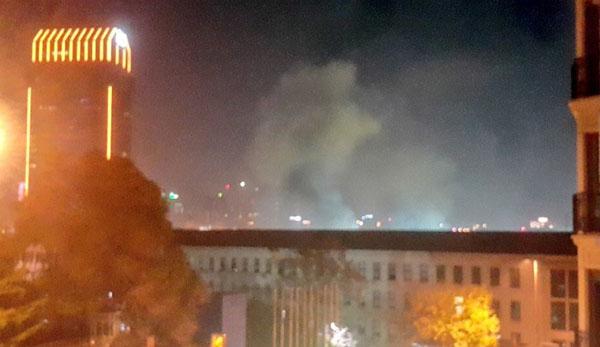Image result for انفجار در مجتمع بزرگ 80 واحدی شهرک اکباتان