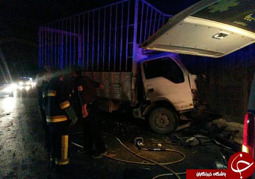 از انفجار در واحد مسکونی تا مرگ راننده در برخورد خودرو با تونل