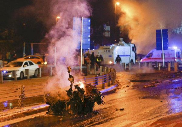 وقوع دو انفجار شدید در استانبول ترکیه / دستکم 20 زخمی تا این لحظه + تصاویر