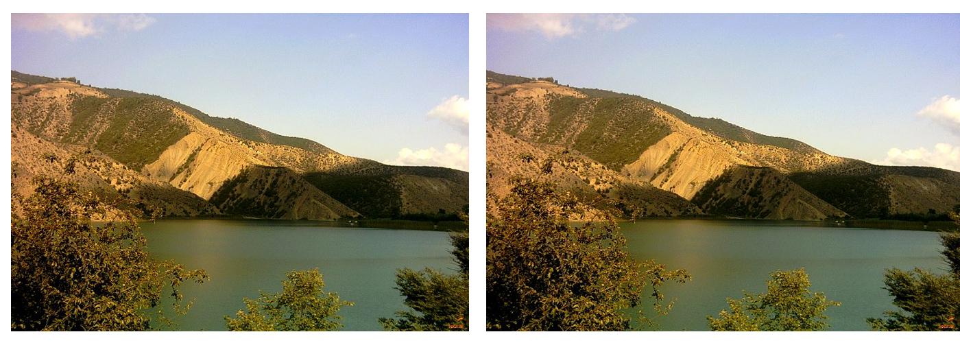 حریم آثار طبیعی دریاچه ولشت و چشمه استخر پشت( دریاچه استخر پشت) ابلاغ شد
