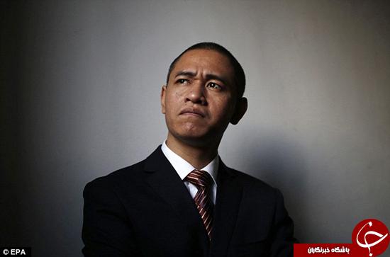 بدل اوباما در چین , اوباما در چین , شباهت بازیگر چینی به اوباما , شباهت فرد چینی به اوباما