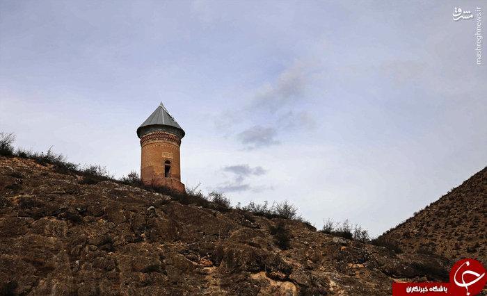 عکس/ برج هزارساله رسکت در مازندران