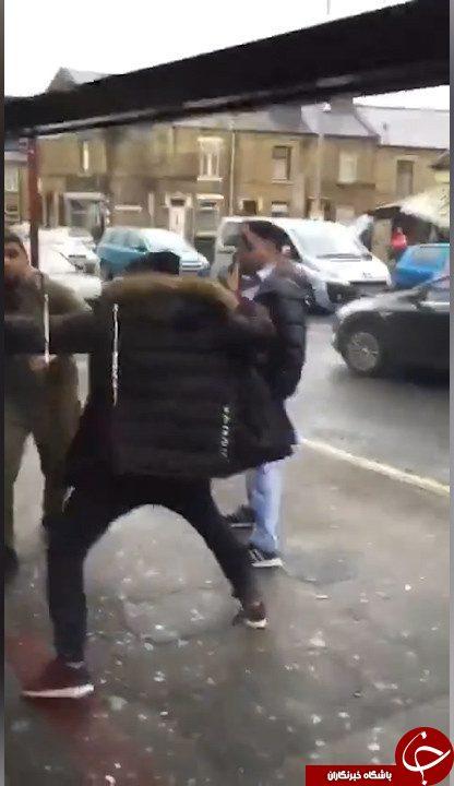 لحظهای تکان دهنده از حمله اراذل اوباش +فیلم