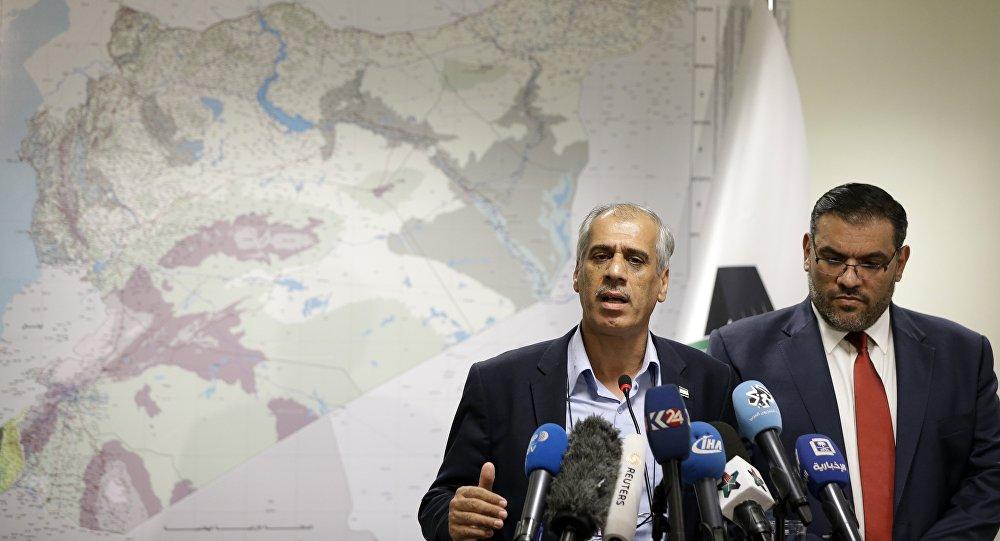 سفر معارضان سوری به واشینگتن برای متقاعد کردن ترامپ به منظور همکاری در سوریه