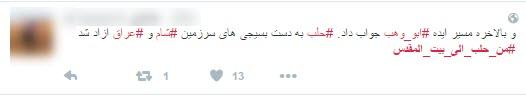 خوشحالی کاربران فضای مجازی از آزادی حلب +کامنتها