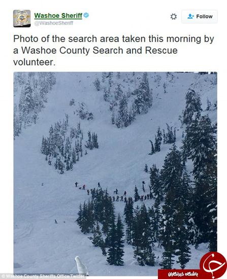 جنازه اسکیباز از زیر بهمن بیرون کشیده شد +تصاویر