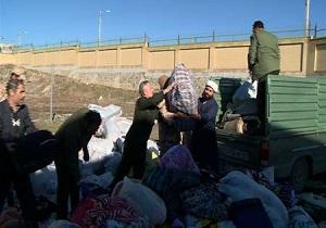 ارسال کمک های غیرنقدی مشگین شهری ها به مردم سوریه