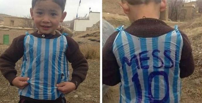 فرار کودک 6 ساله از افغانستان به خاطر مسی