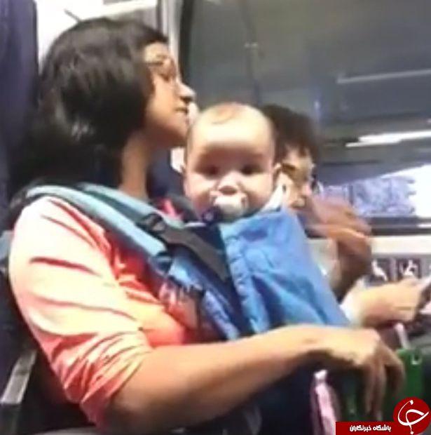 رفتار غیر انسانی با مادر جوان و نوزادش +تصاویر