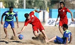 تیم ملی فوتبال ساحلی به بوشهر رفت