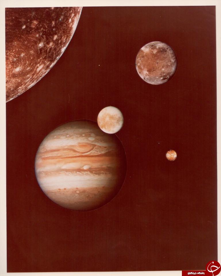 تصاویر حیرت انگیز از نخستین سفر انسان به ماه