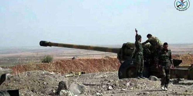 درگیری ارتش سوریه با تروریستها در حمص و لاذقیه/ هلاکت شماری از تروریستها