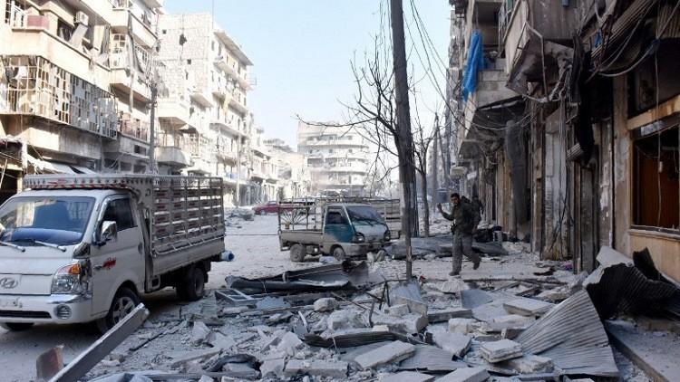 وزارت دفاع روسیه: تروریستهای احرارالشام به محله صلاحالدین حلب حمله کردند