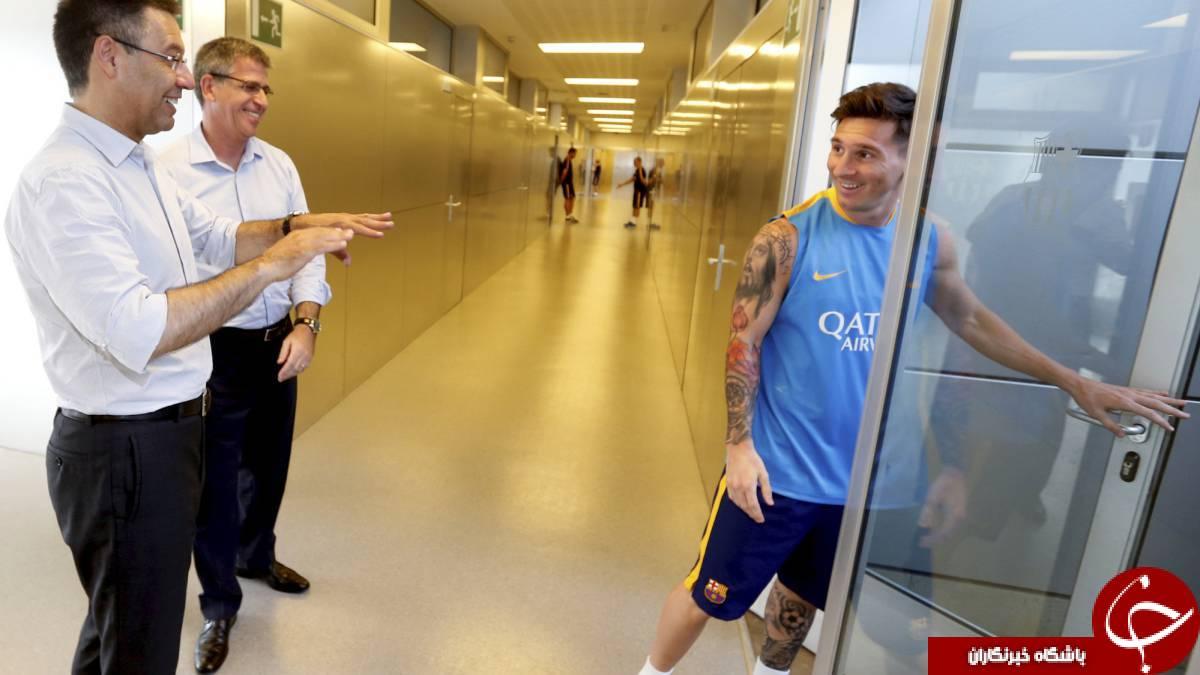 حقوق نجومی بارسلونا به لیونل مسی چقدر است؟