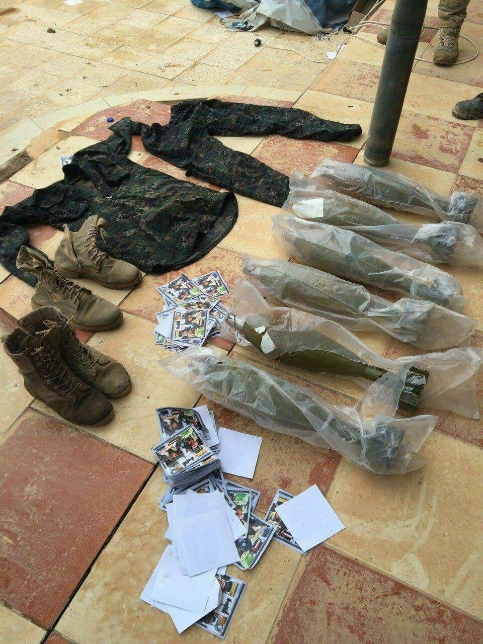 کشف مکان اختفای  «ابوبکر البغدادی» در البعاج موصل/ ضبط خمپاره انداز و کاتیوشای داعش+تصاویر