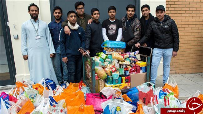 کمک مسلمانان لندن , کمک مسلمانان به بی خانمان های لندن , کمک مالی مسلمانان به بی خانمان ها در لندن ,  یاری به بیخانمانهای لندن