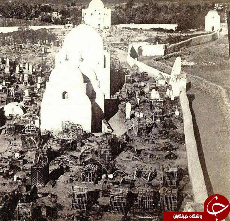عکس/ قبرستان بقیع قبل از تخریب