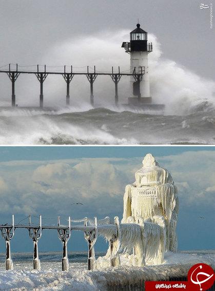 تصاویر/ قبل و بعد از زمستان