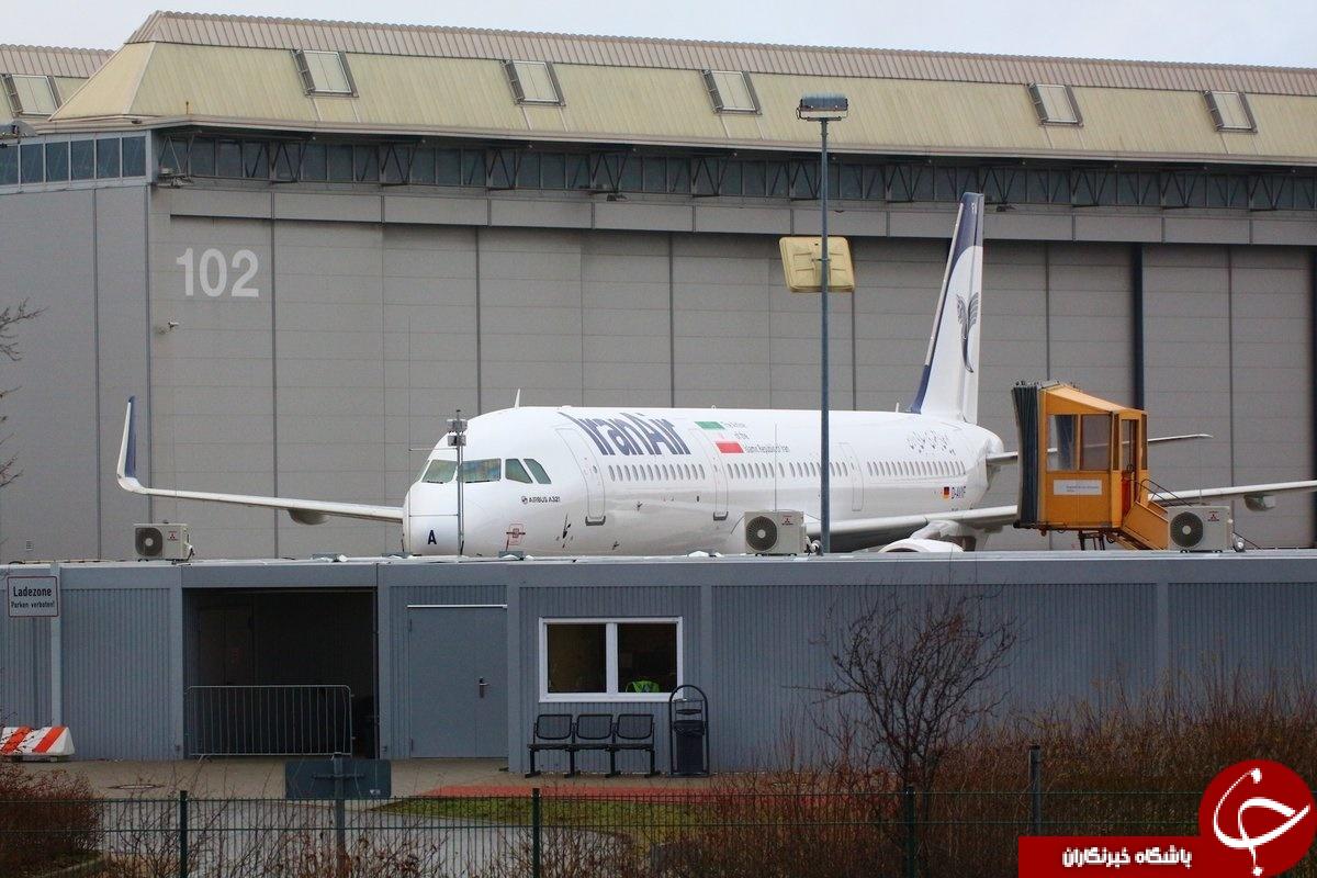 نخستین تصاویر لو رفته از هواپیمای ایرباس که به زودی تحویل ایران میشود