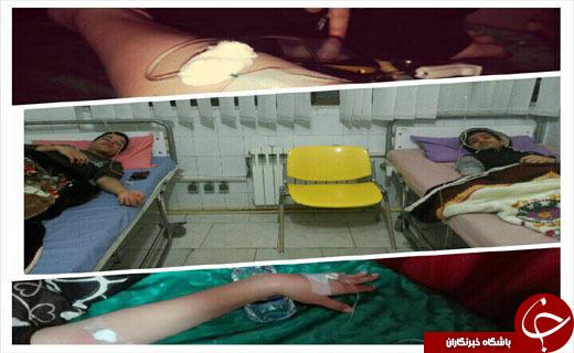 علت نامعلوم بیماری 25 دانشجو در دانشگاه +تصاویر