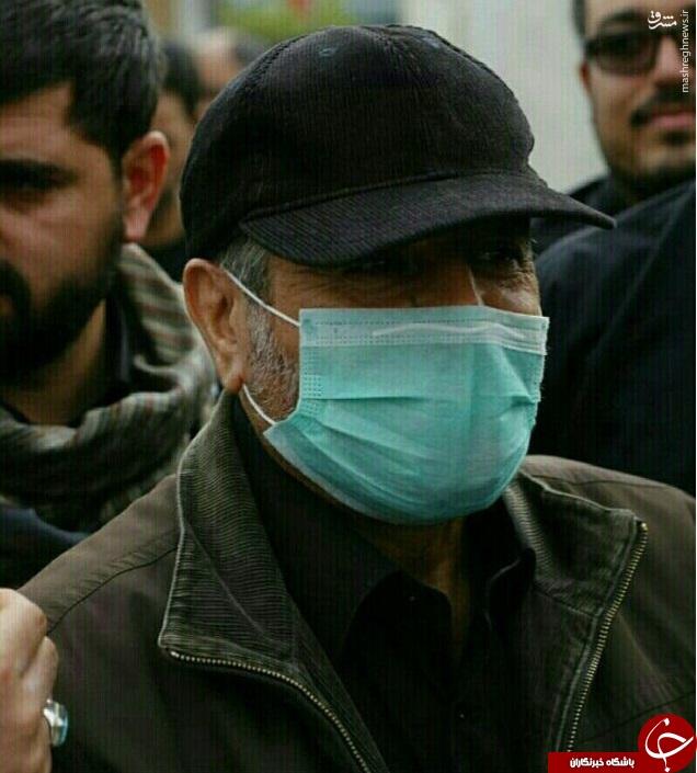 عکس/ فرمانده کل سپاه در پیاده روی بزرگ اربعین