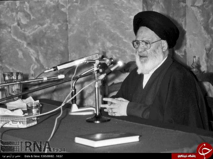 چند تصویر قدیمی از مرحوم آیتالله سید عبدالکریم موسوی اردبیلی