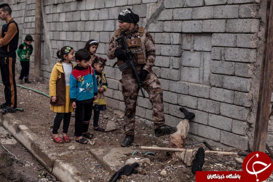 تروريست داعشي تبديل به جاذبه اي هولناک شد(18+)