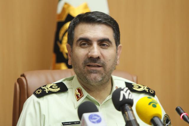 افزایش گشتهای پلیس به مناسبت شب یلدا جهت تامین امنیت شهر