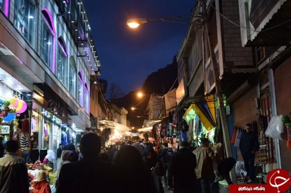 باشگاه خبرنگاران - بازار داغِ غروبِ شب یلدا در سرمای خرم آباد+تصاویر