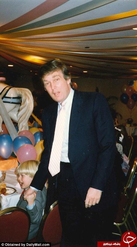 عکس های خانوادگی ترامپ لو رفت