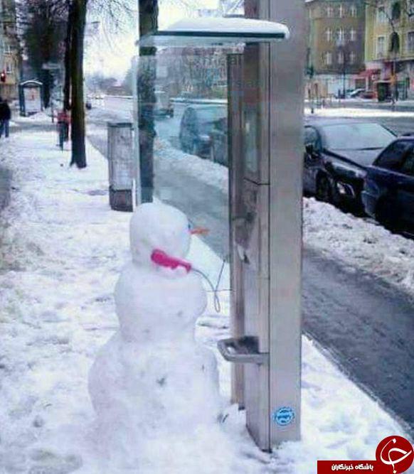 واکنش طنز کاربران به بارش برف در تهران