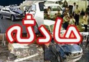 5 کشته و زخمی بر اثر واژگونی خودرو