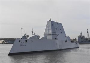 بزرگترین و پیشرفتهترین ناوشکن رادارگریز نیروی دریایی ارتش آمریکا ازکار افتاد