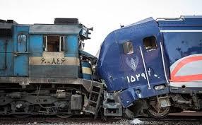 برخورد دو قطار در ایستگاه هفت خوان سمنان